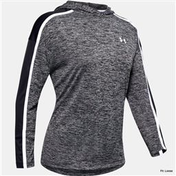 UNDER ARMOUR TECH TWIST GRAPHIC HOODIE